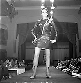 1967 - Irish Leather Federation, Leather Fashions at The Gresham Hotel, Dublin.