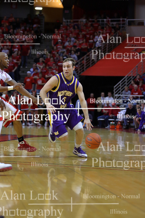 24 February 2009: Ali Farokhmanesh. The Redbirds of Illinois State University lost the Panthers of Northern Iowa in double overtime by a score of 69-67 on Doug Collins Court inside Redbird Arena on the campus of Illinois State University in Normal Illinois