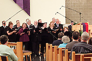 The Jubilee singers during a performance of 'The Way of the Cross' at St. Luke Catholic Parish in Beavercreek, Friday, March 30, 2012.