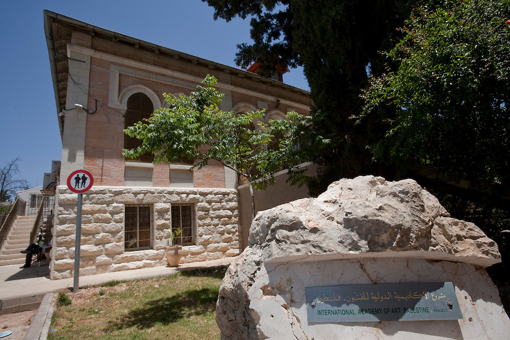 General view of the National Academy of art of Palestine in Ramallah on June 06, 2011. Photo by Olivier Fitoussi