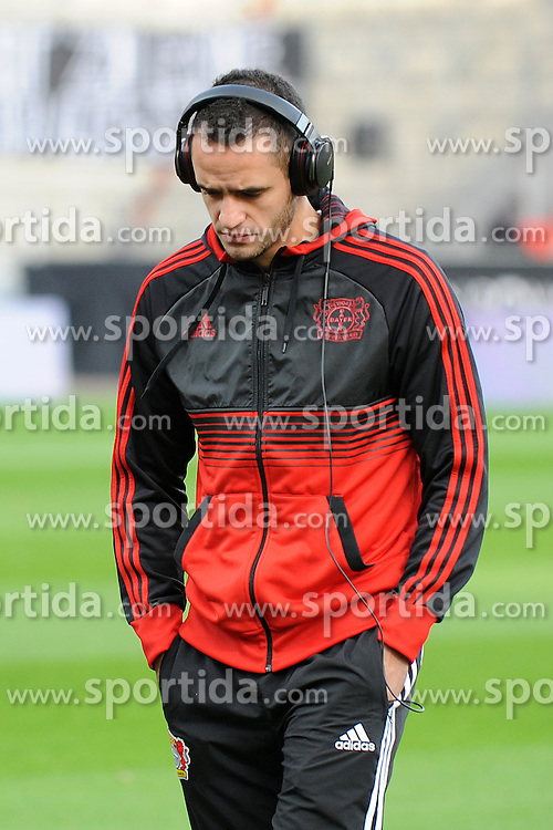 01.12.2012, BayArena, Leverkusen, GER, 1. FBL, Bayer 04 Leverkusen vs 1. FC Nuernberg, 15. Runde, im Bild Renato Augusto ( Bayer 04 Leverkusen/ Portrait ) nachdenklich mit gesenktem Kopf // during the German Bundesliga 15th round match between Bayer 04 Leverkusen and 1. FC Nuernberg at the BayArena, Leverkusen, Germany on 2012/12/01. EXPA Pictures © 2012, PhotoCredit: EXPA/ Eibner/ Thomas Thienel..***** ATTENTION - OUT OF GER *****