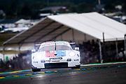 June 10-16, 2019: 24 hours of Le Mans. 93 PORSCHE GT TEAM, PORSCHE 911 RSR, Patrick PILET, Earl BAMBER,  Nicholas TANDY
