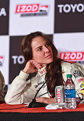 LONG BEACH, CA - APR 14:  Mexican super star Actress Kate Del Castillo post race press conference at the 2012 Toyota Celebrity/PRO Race in Long Beach, CA. All fees must be ageed prior to publication,.Byline and/or web usage link must  read SILVEX.PHOTOSHELTER.COM . Photo by Eduardo E. Silva