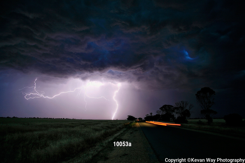 storm in the Western District VIC