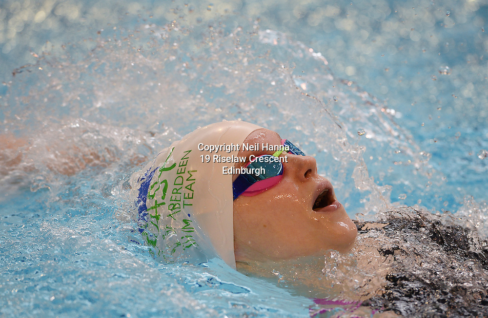 British Para-Swimming International Meet 2016, Tollcross Swimming Centre, Glasgow.<br /> <br /> Event 201 Womens MC 100m Backstroke <br /> <br /> Toni Shaw<br /> <br />  Neil Hanna Photography<br /> www.neilhannaphotography.co.uk<br /> 07702 246823