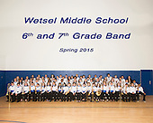 2015 Wetsel Middle School Band