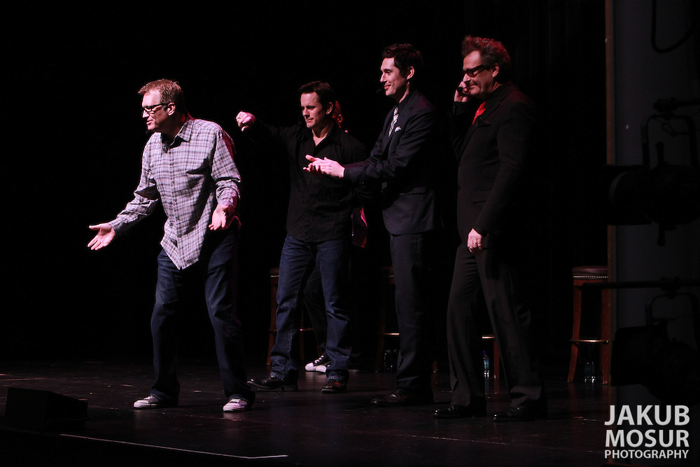 Drew Carey's Improv-A-Ganza performs a show at the Marines' Memorial Theatre on January 28, 2012 as part of SF Sketchfest: The San Francisco Comedy Festival. The 11th annual SF Sketchfest is held at 15 venues in the San Francisco Bay Area from January 19 - February 4, 2012. (© 2012 Photo by Jakub Mosur)