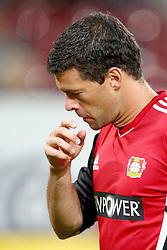 09.09.2011, SGL Arena, Augsburg, GER, 1.FBL, FC Augsburg vs. Bayer 04 Leverkusen, im Bild Michael Ballack (Leverkusen #13)  // during the FC Augsburg vs. Bayer Leverkusen , on 2011/09/09, SGL Arena, Augsburg, Germany, EXPA Pictures © 2011, PhotoCredit: EXPA/ nph/  Straubmeier       ****** out of GER / CRO  / BEL ******