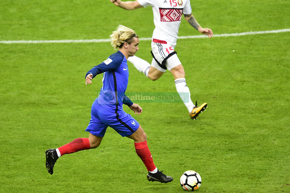 October 10, 2017 - St Denis, France, France - Antoine Griezmann  (Credit Image: © Panoramic via ZUMA Press)