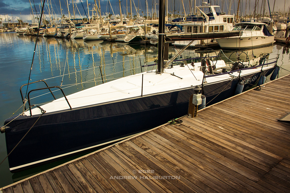 Farr400 Blue Flash sea trials San Diego, CA.