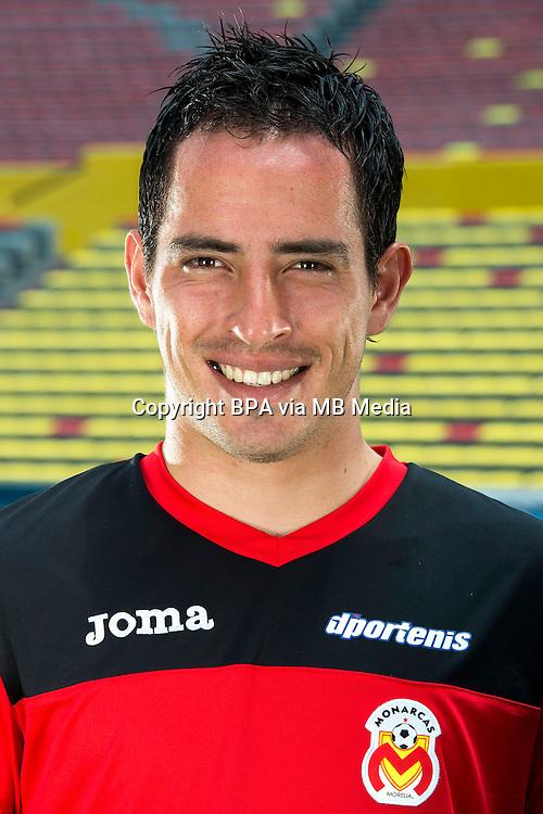 Mexico League - BBVA Bancomer MX 2014-2015 -<br /> La Monarquia - Club Atletico Monarcas Morelia / Mexico - <br /> Carlos Lopez Rubio