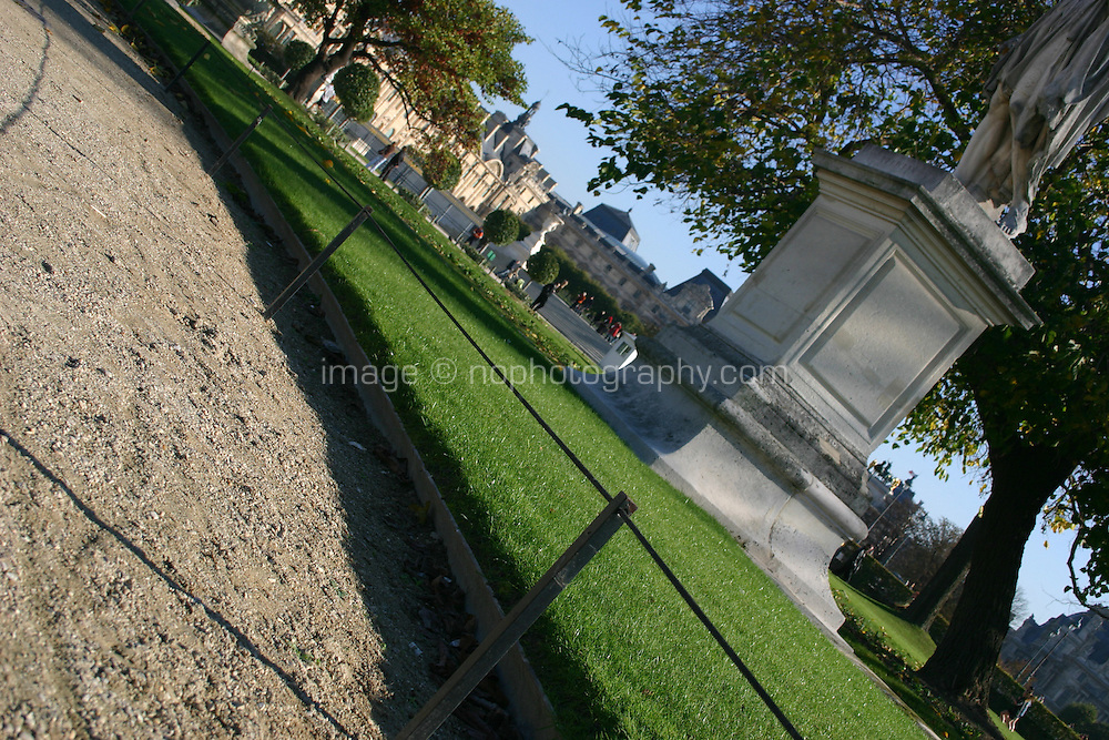 Tuileries gardens Paris france<br />