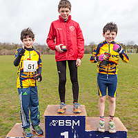 Noah McConway, St Cronins AC, took first place in the 10-11 year old boy Duathlon at the National Duathlon Championship held in Lees Road, Ennis