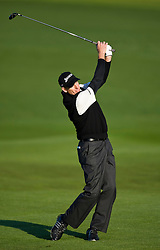February 14, 2010; Pebble Beach, CA, USA;  Jim Furyk on the second hole during the final round of the AT&T Pebble Beach Pro-Am at Pebble Beach Golf Links.
