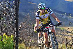 WELLINGTON SOUTH AFRICA - MARCH 23: Yellow jersey wearer Jaroslav Kulhavy during stage five's 39km time trial on March 23, 2018 in Wellington, South Africa. Mountain bikers gather from around the world to compete in the 2018 ABSA Cape Epic, racing 8 days and 658km across the Western Cape with an accumulated 13 530m of climbing ascent, often referred to as the 'untamed race' the Cape Epic is said to be the toughest mountain bike event in the world. (Photo by Dino Lloyd)