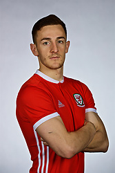 NANNING, CHINA - Saturday, March 24, 2018: Wales' Tom Lockyer during a squad photo shoot at the Wanda Realm Hotel on day five of the 2018 Gree China Cup International Football Championship. (Pic by David Rawcliffe/Propaganda)