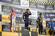 November 16-20, 2016: Macau Grand Prix. 29 António FELIX DA COSTA, Carlin, 1 Felix ROSENQVIST, SJM Theodore Racing by Prema, 27 Sérgio Sette CÂMARA, Carlin