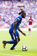 Chelsea (15) Victor Moses during the FA Community Shield match between Arsenal and Chelsea at Wembley Stadium, London, England on 6 August 2017. Photo by Sebastian Frej.