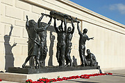 The Armed Forces Memorial at the National Memorial Arboretum, Croxall Road, Alrewas, Burton-On-Trent,  Staffordshire, on 29 October 2018. Picture by Mick Haynes.