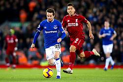 Bernard of Everton goes past Roberto Firmino of Liverpool - Mandatory by-line: Robbie Stephenson/JMP - 02/12/2018 - FOOTBALL - Anfield - Liverpool, England - Liverpool v Everton - Premier League