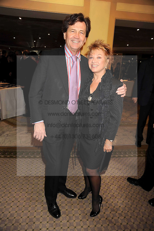 LORD BRAGG and ELAINE PAIGE at the 2009 South Bank Show Awards held at The Dorchester, Park Lane, London on 20th January 2009.