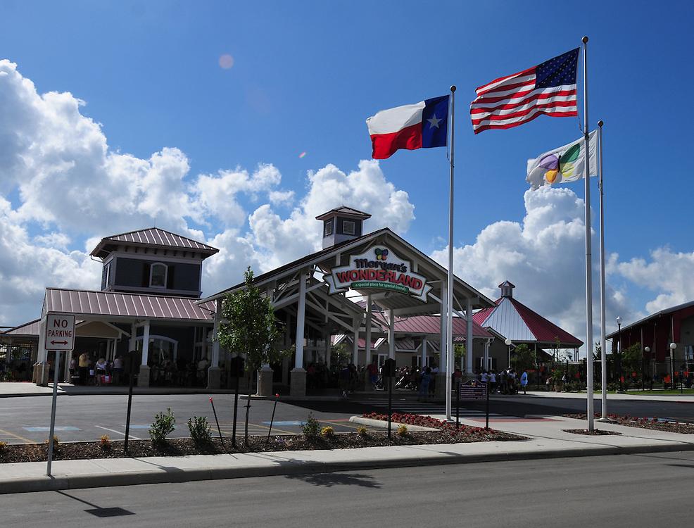 Morgan's WOnderland, the world's first special needs accessable theme park in San Antonio, Texas.