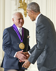 Washington - Obama Presents National Medal Of Arts To Mel Brooks - 22 Sep 2016
