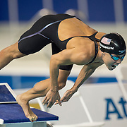 Natalie Coughlin, of the USA, during the women's 100 meter freestyle swimming competition at the 2015 PanAm Games in Toronto.