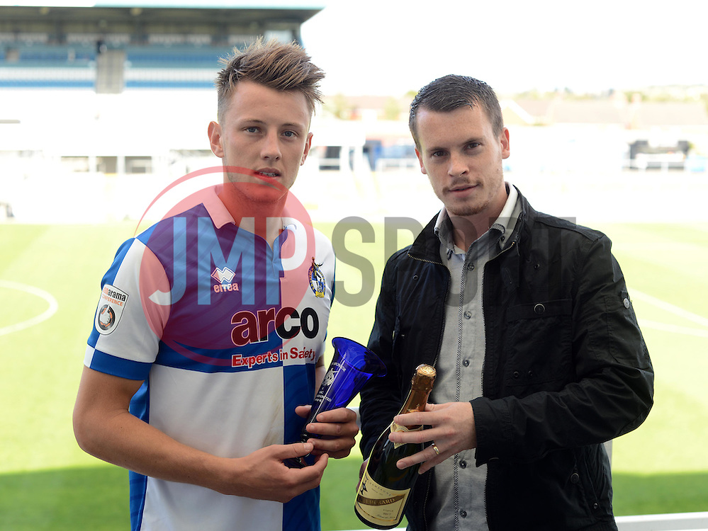 - Photo mandatory by-line: Alex James/JMP - Mobile: 07966 386802 23/08/2014 - SPORT - FOOTBALL - Bristol - Memorial Stadium - Bristol Rovers v AFC Telford - Vanarama Football Conference