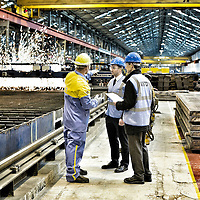 TATA Steel  - Images of the Prolfiling  Centre , Centre Offices and  Automotive Service Centre