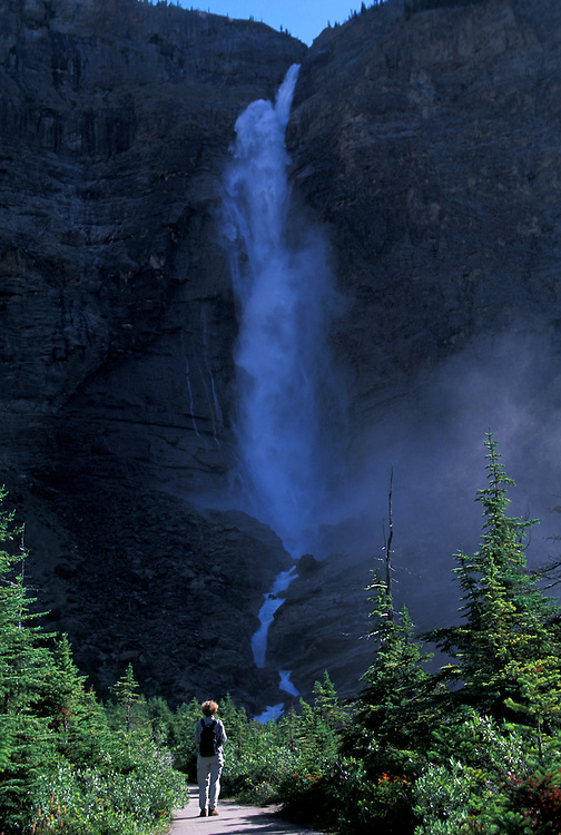 Takakkaw Falls, Yoho National Park,.British Columbia, Canada