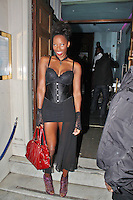 LONDON - October 30: Jamelia in London (Photo by Brett D. Cove)