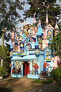 The Christmas House is a one-of-a-kind institution designed by Dr. Rico Absin, an anesthesiologist in the city of Dumaguete.  All the young and the young-at-heart flock to the nutty Spanish mansion of  Dr. Absin, a practicing anesthesiologist  who has successfully created an institution out of a genuine passion for art and decoration and a flair for the dramatic. .
