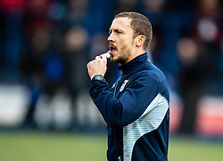 Ritchie Rees coach of Cardiff Blues during the pre match warm up<br /> <br /> Photographer Simon King/Replay Images<br /> <br /> Guinness PRO14 Round 2 - Cardiff Blues v Edinburgh - Saturday 5th October 2019 -Cardiff Arms Park - Cardiff<br /> <br /> World Copyright © Replay Images . All rights reserved. info@replayimages.co.uk - http://replayimages.co.uk