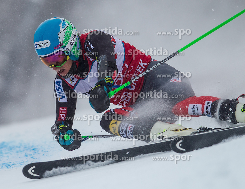 08.12.2013, Birds of Prey, Beaver Creek, USA, FIS Ski Weltcup, Beaver Creek, Riesentorlauf, Herren, 1. Durchgang, im Bild Ted Ligety (USA) // Ted Ligety of the USA in action during the the 1st run of mens Giant Slalom of the Beaver Creek FIS Ski Alpine World Cup at the Birds of Prey Raptor in Beaver Creek, United States on 2012/12/08. EXPA Pictures © 2013, PhotoCredit: EXPA/ Johann Groder