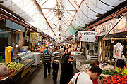 Day 4 - A market in Jerusalem (Photo by Brian Garfinkel)