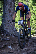 Christopher Blevins (USA) during the Team Relay  at the 2018 UCI MTB World Championships - Lenzerheide, Switzerland