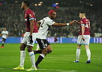 Football - 2018 / 2019 Premier League - West Ham United vs. Fulham<br /> <br /> Ryan Babel of Fulham celebrates scoring his first half goal, at The London Stadium.<br /> <br /> COLORSPORT/ANDREW COWIE