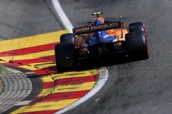 August 31, 2019, Francorchamps, Belgium: LANDO NORRIS of McLaren F1 Team during qualifying of the Formula 1 Belgian Grand Prix at Circuit de Spa-Francorchamps in Francorchamps, Belgium. (Credit Image: © James Gasperotti/ZUMA Wire)