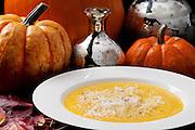 Francesca's Pumpkin Soup // www.florastable.com