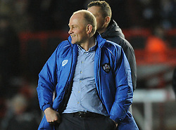 Bristol's director of rugby, Andy Robinson - Photo mandatory by-line: Dougie Allward/JMP - Mobile: 07966 386802 - 06/03/2015 - SPORT - Rugby - Bristol - Ashton Gate - Bristol Rugby v Nottingham Rugby - Greene King IPA Championship
