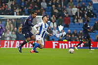Football - 2018 / 2019 Emirates FA Cup - Fifth Round: Brighton and Hove Albion vs. Derby County<br /> <br /> Tom Huddlestone of Derby fouls Beram Kayal of Brighton during the FA Cup tie at The Amex Stadium Brighton  <br /> <br /> COLORSPORT/SHAUN BOGGUST