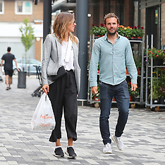 Manchester United's Juan Mata spotted in Chesire - 14 July 2018