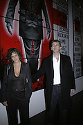 Tracey Emin, Gilbert and George Major Exhibition. Tate Modern. Afterwards dinner at Christchurch Spitafields. London. 13 February 2007.  -DO NOT ARCHIVE-© Copyright Photograph by Dafydd Jones. 248 Clapham Rd. London SW9 0PZ. Tel 0207 820 0771. www.dafjones.com.