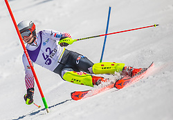 42# Zubcic Filip from Croatia during the slalom of National Championship of Slovenia 2019, on March 24, 2019, on Krvavec, Slovenia. Photo by Urban Meglic / Sportida