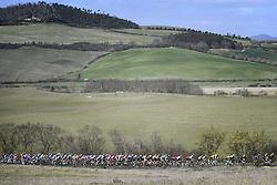 March 15, 2019 - Pomarance, Pisa, Italia - Foto LaPresse/Fabio Ferrari .15/03/2019 Pomarance (Italia) .Sport Ciclismo.Tirreno-Adriatico 2019 - edizione 54 - da Pomarance a Foligno  (226 km) .Nella foto:durante la gara..Photo LaPresse/Fabio Ferrari .March 15, 2018 Pomarance (Italy).Sport Cycling.Tirreno-Adriatico 2019 - edition 54 - Pomarance to Foligno (140 miglia) .In the pic:during the race (Credit Image: © Fabio Ferrari/Lapresse via ZUMA Press)