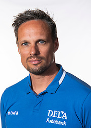 06-07-2018 NED: EC Beach teams Netherlands, The Hague<br /> Coach Richard de Kogel