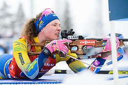 March 16, 2019 - –Stersund, Sweden - 190316 Hanna Öberg of Sweden competes in the Women's 4x6 km Relay during the IBU World Championships Biathlon on March 16, 2019 in Östersund..Photo: Petter Arvidson / BILDBYRÃ…N / kod PA / 92268 (Credit Image: © Petter Arvidson/Bildbyran via ZUMA Press)