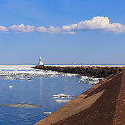&quot;Marquette Breakwater Lighthouse&quot;<br />