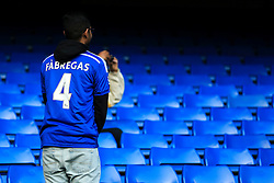 A Chelsea fan shows off his Cesc Fabregas shirt prior to kick off - Mandatory by-line: Jason Brown/JMP - 26/12/2016 - FOOTBALL - Stamford Bridge - London, England - Chelsea v Bournemouth - Premier League